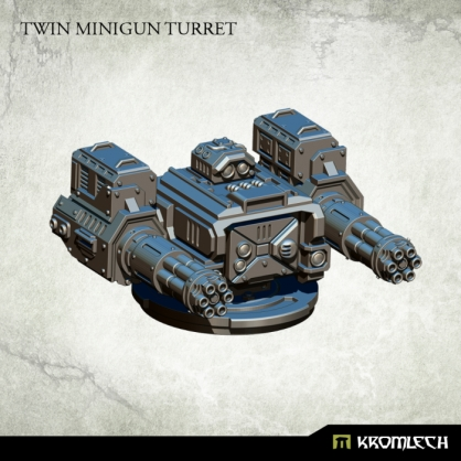 Twin Minigun Turret