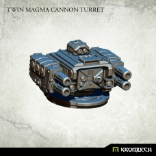 Twin Magma Cannon Turret
