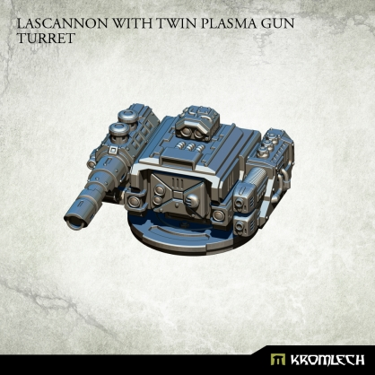 Lascannon with Twin Plasma Gun Turret