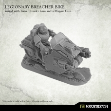Legionary Breacher Bike armed with twin thunder gun and magma rifle