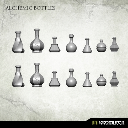 Alchemic Bottles