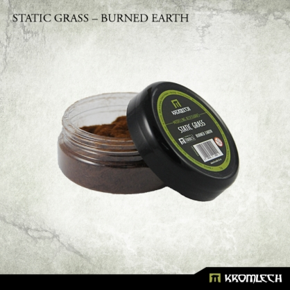 Static Grass – Burned Earth