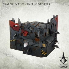 Skargruk Line – Wall 90 degrees