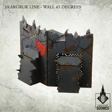 Skargruk Line – Wall 45 degrees