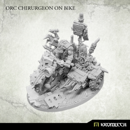 Orc Chirurgeon on bike
