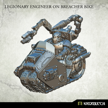 Legionary Engineer on Breacher Bike