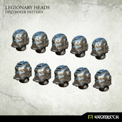 Legionary Heads: Destroyer Pattern