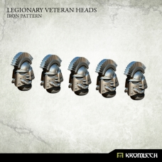 Legionary Veteran Heads: Iron Pattern