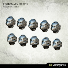 Legionary Heads: Raven Pattern