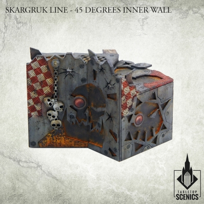 Skargruk Line – 45 degrees Inner Wall