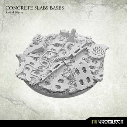 Concrete Slabs Bases: Round 80mm