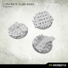 Concrete Slabs Bases: Round 50mm