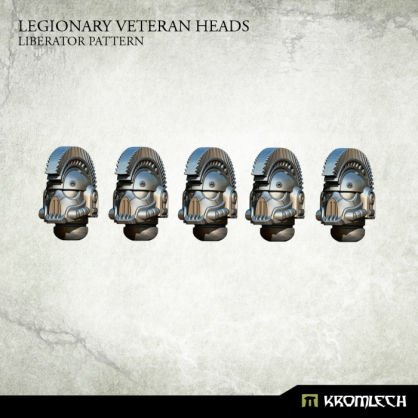 Legionary Veteran Heads: Liberator Pattern