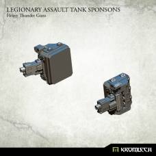 Legionary Assault Tank Sponsons: Heavy Thunder Guns