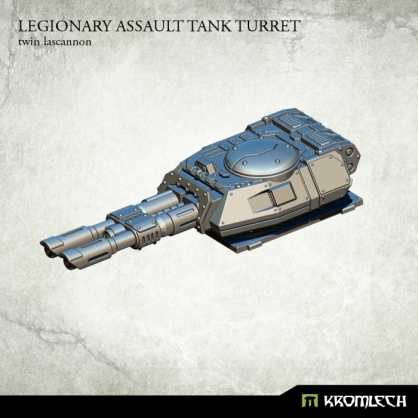 Legionary Assault Tank Turret: Twin Lascannon