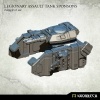 Legionary Assault Tank Sponsons: Heavy Flamers