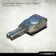 Legionary Assault Tank Turret: Twin Heavy Plasma Cannon