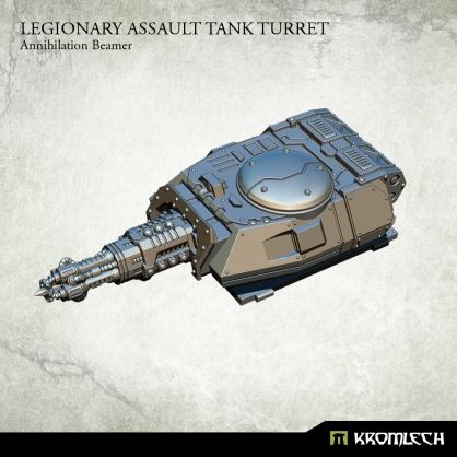 Legionary Assault Tank Turret: Annihilation Beamer