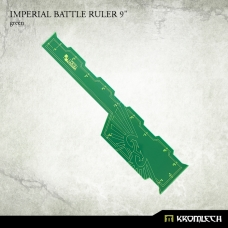 "Imperial Battle Ruler 9"" [green]"