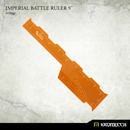 "Imperial Battle Ruler 9"" [orange]"