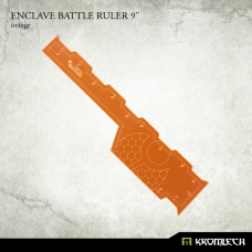 "Enclave Battle Ruler 9"" [orange]"