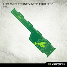 "Bedlam Fraternity Battle Ruler 9"" [green]"