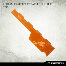 "Bedlam Fraternity Battle Ruler 9"" [orange]"