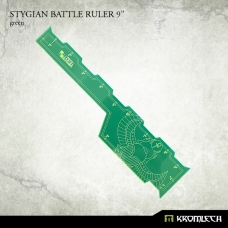 "Stygian Battle Ruler 9"" [green]"