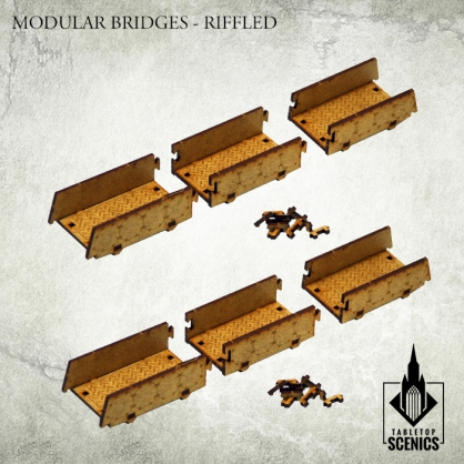 Modular Bridges - Riffled