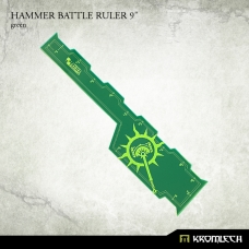 "Hammer Battle Ruler 9"" [green]"