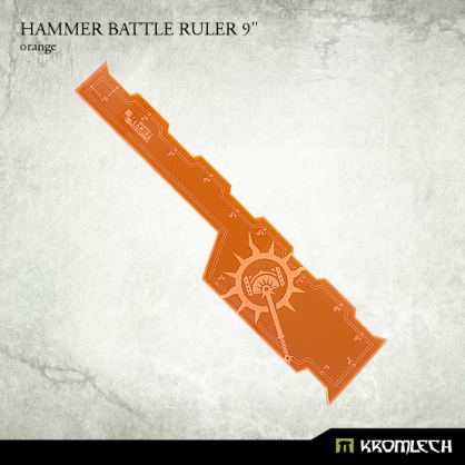 "Hammer Battle Ruler 9"" [orange]"