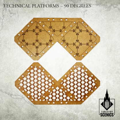 Technical Platforms - 90 degrees