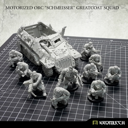 "Motorized  Orc  ""Schmeisser"" Greatcoat Squad"