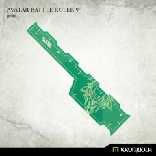 "Avatar Battle Ruler 9"" [green]"