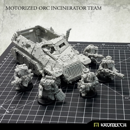 Motorized Orc Incinerator Team