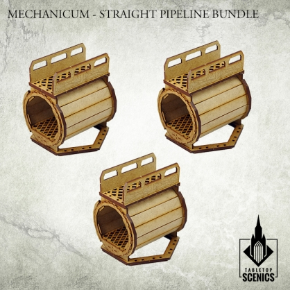 Straight Pipeline Bundle