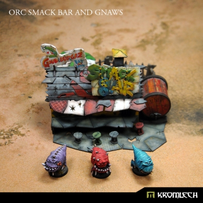 Orc Smack Bar and Gnaws
