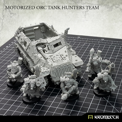 Motorized Orc Tank Hunters Team