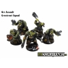 Motorized Orc Assault Greatcoat Squad