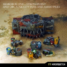 Skargruk Line – Strongpoint and Orc Junk City Fuel and Ammo Piles
