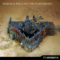 Skargruk Walls and Orc Flakvierling