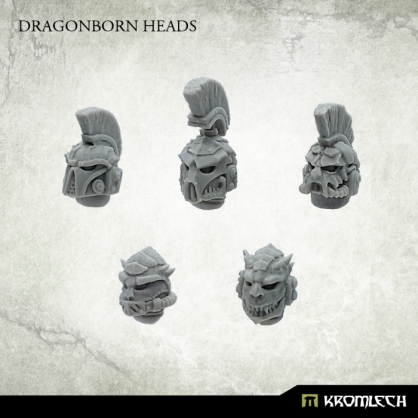 Dragonborn Heads