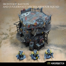 Irontoof Bastion and Juggernaut Mecha-Armour Squad