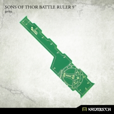 "Sons of Thor Battle Ruler 9"" [green]"