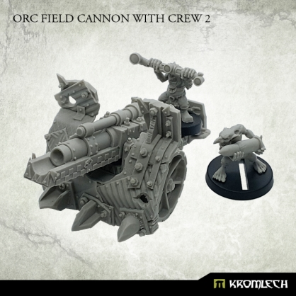 Orc Field Cannon with Crew 2