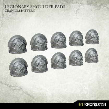 Legionary Shoulder Pads: Cranium Pattern