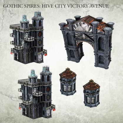 Hive City Victory Avenue Bundle