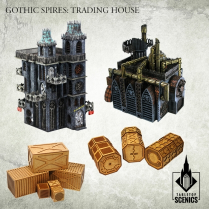 Hive City Trading House Bundle