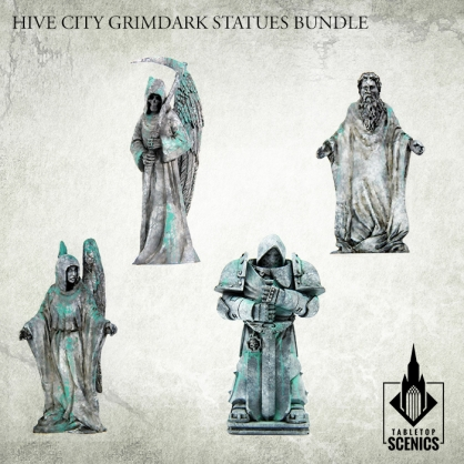 Hive City Grimdark Statues Bundle