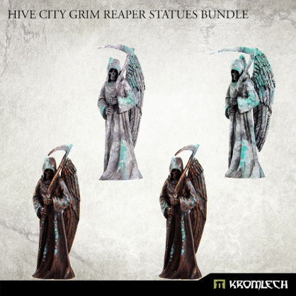 Hive City Grim Reaper Statues Bundle